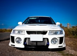 Evo from the front