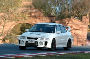 Evo at oulton park